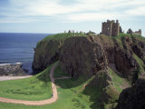 Dunnottar Castle, Scotland Photographic Print by Stephen Saks