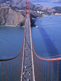 Top of Golden Gate Bridge, San Francisco, CA Photographic Print by Shmuel Thaler