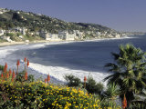 Main Beach, Laguna Beach, CA Photographic Print by Michele Burgess