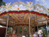 Old Carousel in Tuileries Garden, Paris, France Photographie par Tamarra Richards