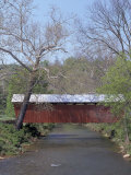 Simpson Creek Covered Bridge, Harrison County, WVA Photographie par Robert Finken