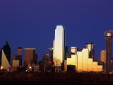 Skyline at Dusk, Dallas, TX Photographic Print by Kevin Leigh