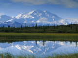 Tundra Ponds, Mt. Mckinley, AK Photographic Print by Frank Staub