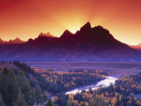 Wyoming, Grand Teton National Park Photographic Print by Russell Burden