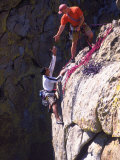Rock Climbers, the Needles, CA Photographic Print by Greg Epperson