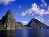 Pitons, St. Lucia Photographic Print by Timothy O'Keefe