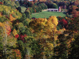 Countryside with Barn, Vermont Photographic Print by Russell Burden