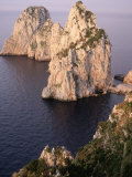 Island of Capri, Faraglioni, Italy Photographic Print by Stephen Saks