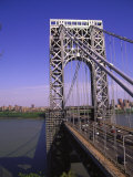 George Washington Bridge, NY Photographic Print by Barry Winiker