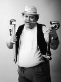 Plumber with Cigar Photographic Print by Gary Conner