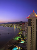 Beachfront, Acapulco, Mexico Photographic Print by Walter Bibikow