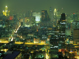 Central Bangkok Detail, Thailand Photographic Print by Walter Bibikow