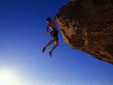 Rock Climber Fotografisk tryk af Greg Epperson