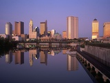 Skyline, Columbus, Ohio Photographic Print by Richard Stockton