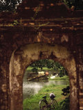 Archway Temple, Hue, Vietnam Photographic Print by Walter Bibikow