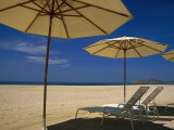Pool umbrella, Cabo San Lucas, Mex Photographie par Jennifer Broadus