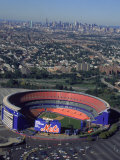 Shea Stadium, Aerial View, Ny Mets Fotografisk trykk av Bruce Clarke