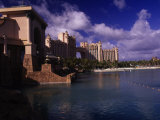 Atlantis Hotel and Resort, Paradise Island Photographic Print by Angelo Cavalli
