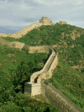 Great Wall of China, Beijing, China Fotoprint van Paul Franklin