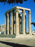 Athens, Greece, Temple of Olympian Zeus Photographic Print by Ken Glaser