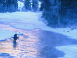 Fly Fishing, Taylor River, CO Photographic Print by Tom Stillo