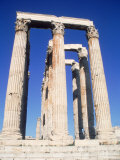 Temple of Olympian Zeus, Greece Photographic Print by Ken Glaser