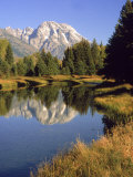 Mt. Moran, Grand Teton National Park Photographic Print by Russell Dohrmann