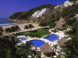 Punta Diamante Resort, Acapulco, Mexico Photographic Print by Walter Bibikow