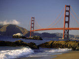 Golden Gate Bridge, CA Photographic Print by Lynn Eodice