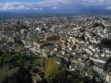 Granada from the Alhambra, Spain Photographic Print by Barry Winiker