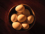 Bowl of Eggs Photographic Print by Jacque Denzer Parker