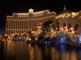 The Bellagio at Night  Las Vegas  NV