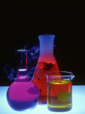 Laboratory Glassware Composition Photographic Print by David M. Dennis