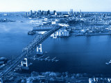 Aerial View of Boston, MA Photographic Print by Jeffrey Rotman