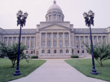 Capitol Building in Frankfort, KY Photographic Print by Jim Schwabel