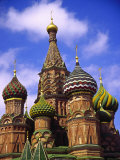 St. Basil's Cathedral, Moscow, Russia Photographic Print by Doug Page