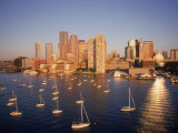 Boston Skyline, MA Photographic Print by Kindra Clineff