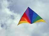 Colorful Delta Kite Photographic Print by Hal Gage