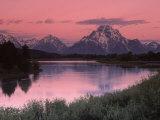 Dawn, Oxbow Bend, Grand Tetons, WY Fotografisk trykk av Gail Dohrmann