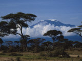 Kenya, Mount Kilimanjaro Photographic Print by Michele Burgess