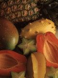 Exotische Früchte Fotodruck von Chris Rogers