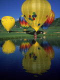 Hot Air Balloons, Snowmass CO Photographic Print by David Carriere