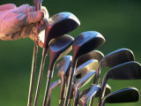 Selecting Golf Club Photographic Print by Mitch Diamond
