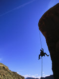 Rock Climbing, Canyonlands, UT Photographic Print by Greg Epperson