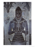 Brass of Sir John Wilcotes, Church of St Michael and All Angels, Great Tew, Oxfordshire, England Giclee Print by Simon Marsden