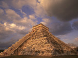 Ancient Mayan Ruins, Chichen Itza, Mexico Photographic Print by Walter Bibikow