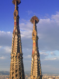 Sagrada Familia, Barcelona, Spain Photographic Print by Peter Adams