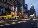 Times Square, Looking North, Dusk, NYC Photographic Print by Barry Winiker