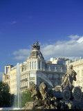 Plaza Cibeles, Madrid, Spain Photographic Print by Peter Adams
