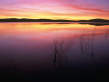 Sunrise on Klamath Lake Wild Refuge, CA Photographic Print by Kyle Krause
